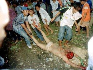 Cristão morto na Indonésia